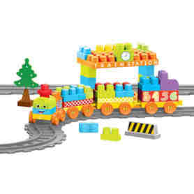 Wader 41480 Baby Blocks Railway Kolejka 13,35m