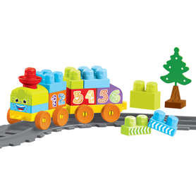 Wader 41460 Baby Blocks Railway Kolejka 1,45m