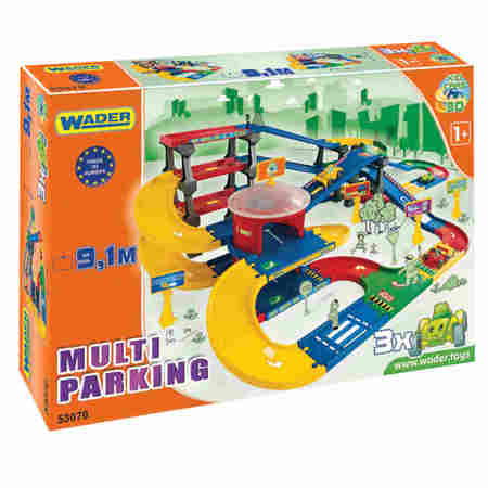 WADER KID CARS 3D MULTI PARKING 9,1 METRA 53070 w Pudełku